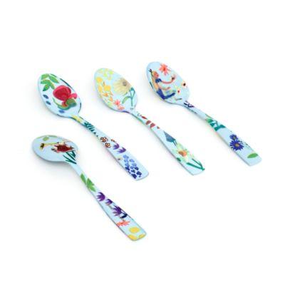 Disney Store Alice in Wonderland Mary Blair Tea Spoons, Set of 4