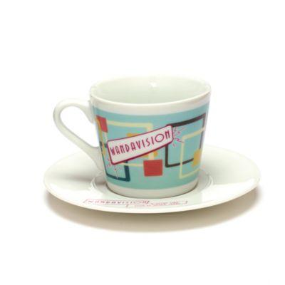 Disney Store WandaVision Teacup and Saucer Set