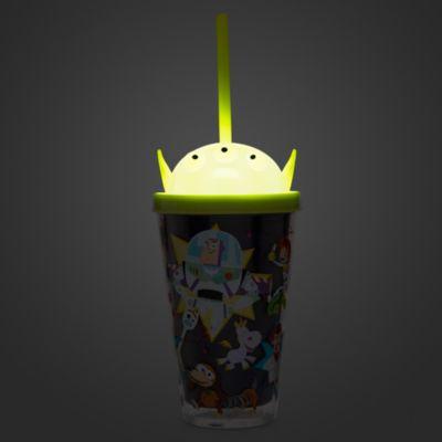 Disney Store Gobelet lumineux avec paille Toy Story