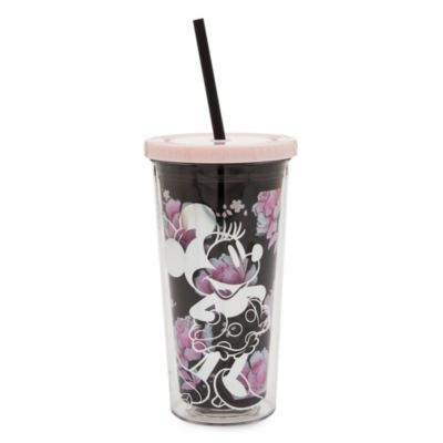 Disney Store Positively Minnie Straw Tumbler