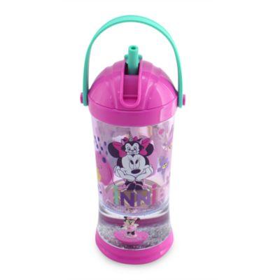 Bicchiere con palla di neve e cannuccia Minni Disney Store