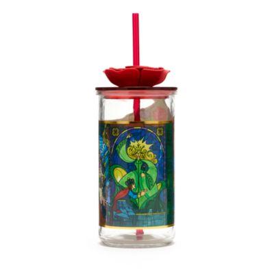 Bicchiere con cannuccia La Bella e la Bestia Disney Store