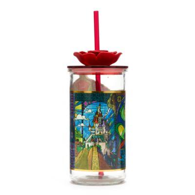 Disney Store Gobelet avec pailleLa Belle et la Bête