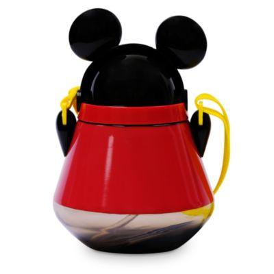 Disney Store - Micky Maus - Trinkflasche mit Klappkappe