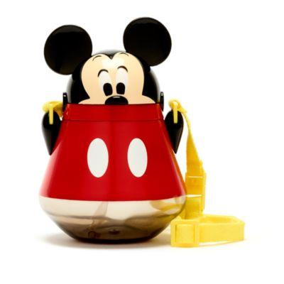 Disney Store Gourde Mickey avec paille rabattable