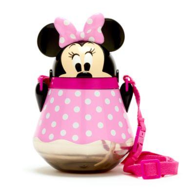 Disney Store Gourde Minnie avec paille rabattable