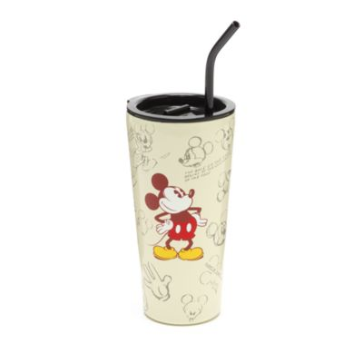 Disney Store Gobelet avec paille esquisse Mickey