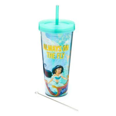 Bicchiere con cannuccia Jasmine Aladdin Disney Store