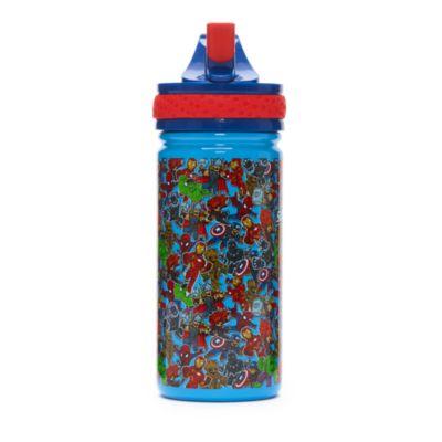 Disney Store Marvel Super Hero Adventures Stainless Steel Water Bottle