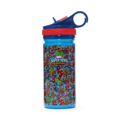 Botella agua acero inoxidable, Marvel Super Hero Adventures, Disney Store