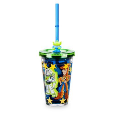 Disney Store Gobelet avec paille Toy Story
