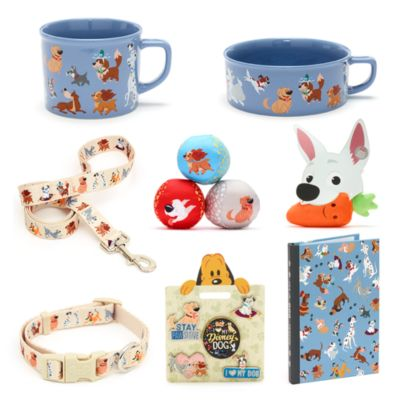 Colección accesorios y artículos papelería perros Disney para adultos, Disney Store