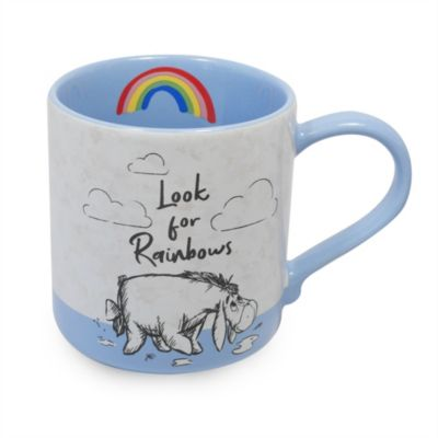 Disney Store Winnie the Pooh and Friends Rainbow Mug