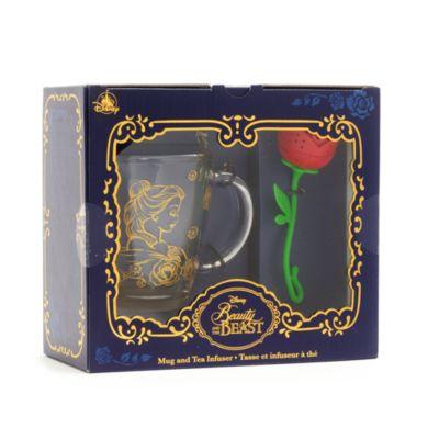 Disney Store Beauty and the Beast Mug and Tea Infuser