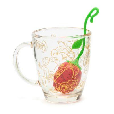 Taza e infusor de té La Bella y la Bestia, Disney Store