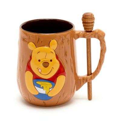 Disney Store - Winnie Puuh - Becher und Rührstab