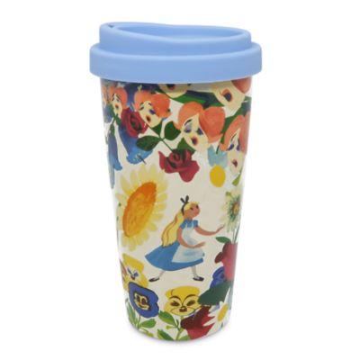 Disney Store Alice in Wonderland Mary Blair Travel Mug