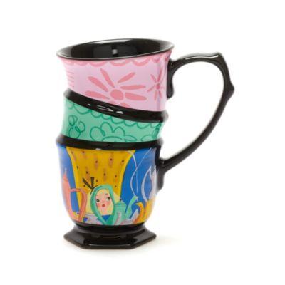 Disney Store Alice in Wonderland Mary Blair Stacked Mug