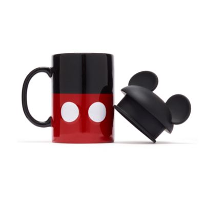 Disney Parks Mickey Mouse Mug with Lid