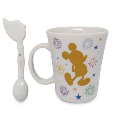 Disney Store Imagination Key Mug and Spoon