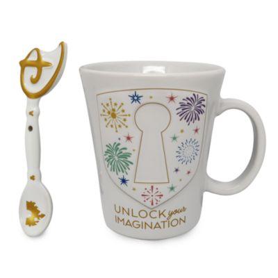 Disney Store Mug et cuiller Clé Imagination
