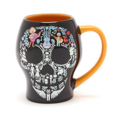 Disney Store Mug crâne Coco à couleur changeante, Disney Pixar