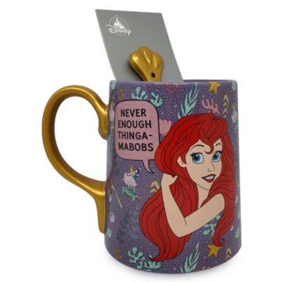 Disney Store Ariel Mug and Spoon, The Little Mermaid