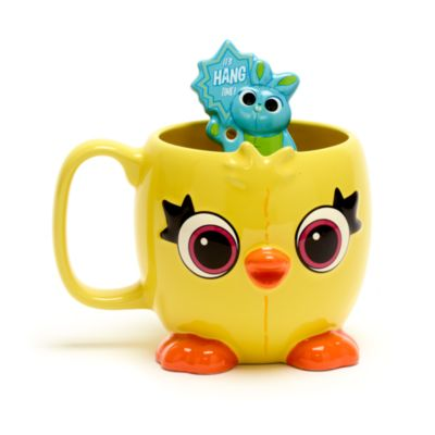 Taza y cuchara Ducky y Bunny, Toy Story4, Disney Store