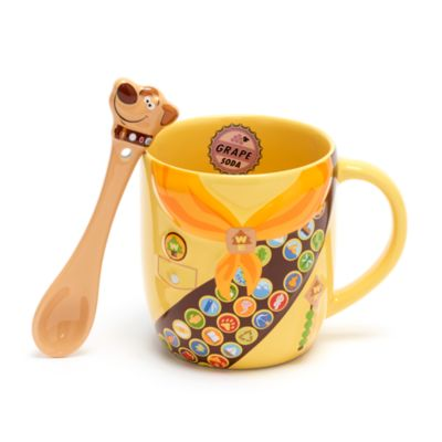 Disney Store Up Mug and Spoon