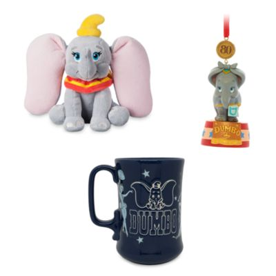 Set 80° anniversario Dumbo Disney Store