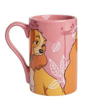Disney Store Lady Mug, Lady & The Tramp