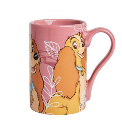 Disney Store Mug Belle, La Belle et le Clochard