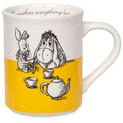 Disney Store Mug Winnie l'Ourson et ses amis, Jean-Christophe et Winnie