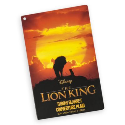 Disney Store Jeté Le Roi Lion en polaire