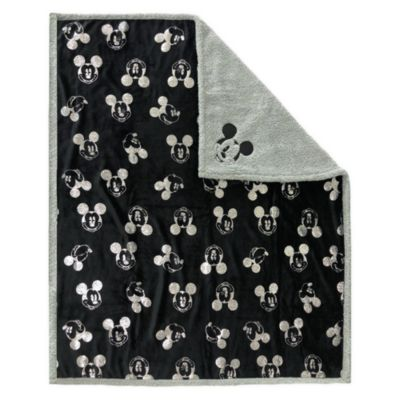 Disney Store - Mickey Mouse Greyscale Collection - Tagesdecke aus Fleece