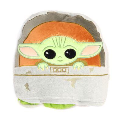 Disney Store The Child Convertible Fleece Throw, Star Wars: The Mandalorian