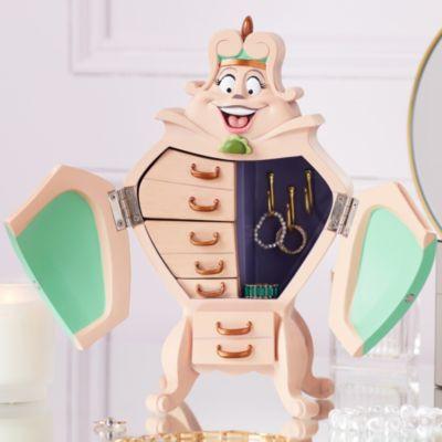 Disney Store Boîte à bijoux Garde-robe de La Belle et la Bête