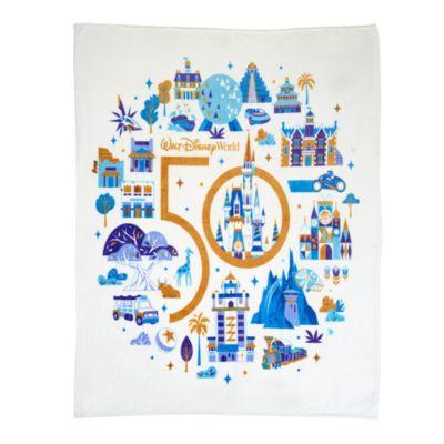 Walt Disney World 50th Anniversary Throw