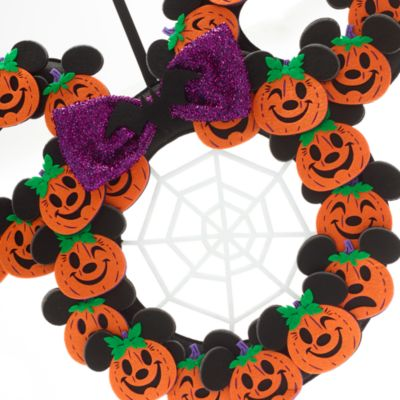 Walt Disney World Couronne d'Halloween Mickey et Minnie