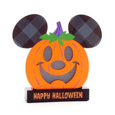 Walt Disney World Mickey Mouse Pumpkin Halloween Light-Up Sign