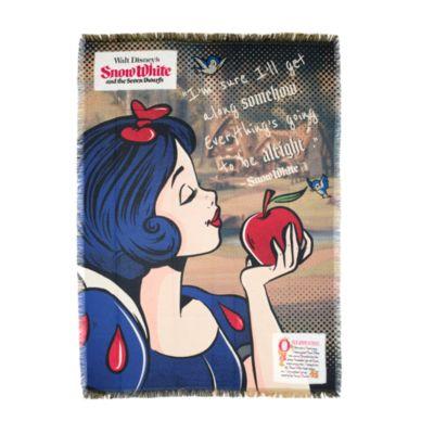 Disney Store Snow White Woven Throw