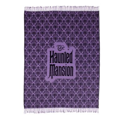 Disney Store The Haunted Mansion Fleece Throw