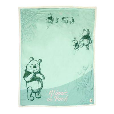 Disney Store - Winnie Puuh und Freunde - Fleece-Decke