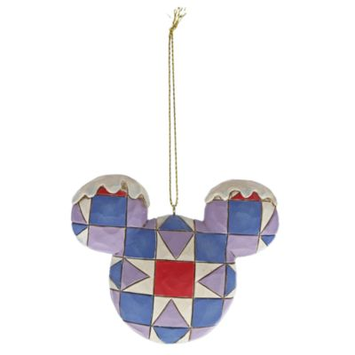 Enesco Mickey Mouse Disney Traditions Hanging Ornaments, Set of 4