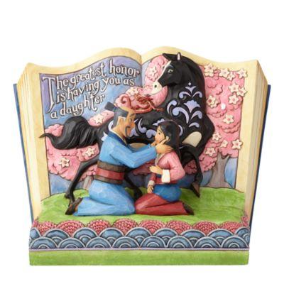 Enesco Mulan The Greatest Honour Storybook Disney Traditions Figurine