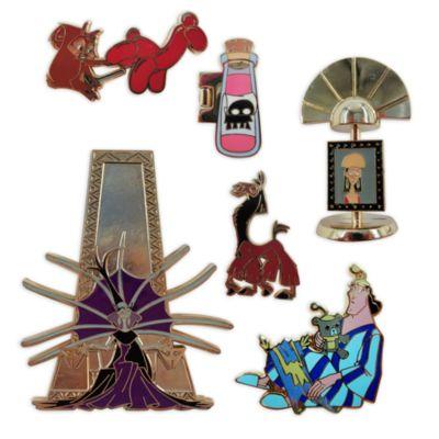 Set di pin Le Follie dell'Imperatore edizione limitata Disney Store