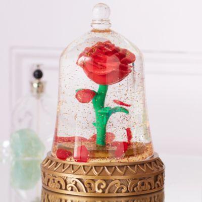 Soprammobile in vetro Rosa incantata La Bella e la Bestia Disney Store