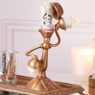 Disney Store Figurine lumineuse Lumière, La Belle et la Bête