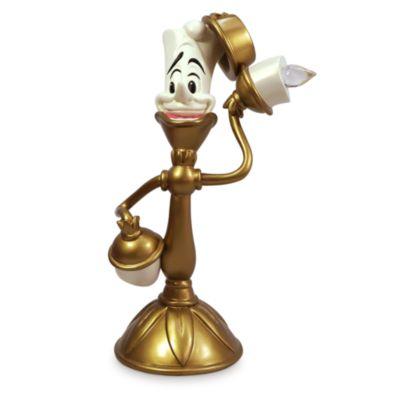 Figurita que se ilumina Lumière, La Bella y la Bestia, Disney Store