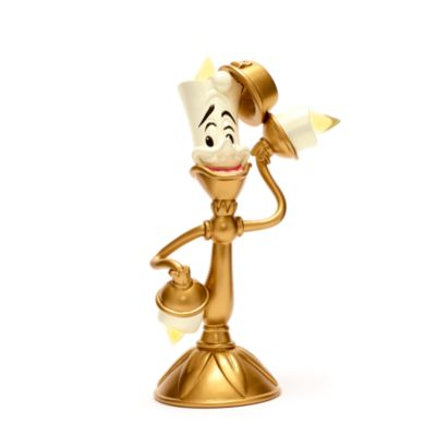 Disney Store Lumiere Light-up Figurine, Beauty and the Beast